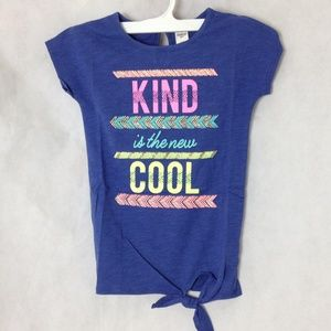 OshKosh B'Gosh Girls Kind is Cool Shirt Size 4-5